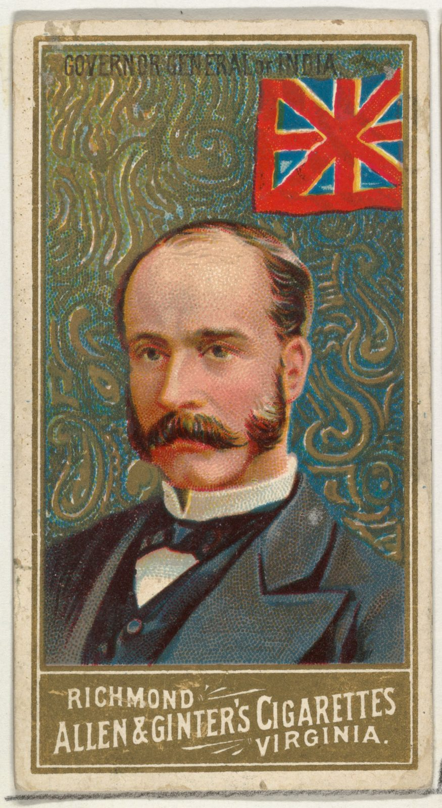 Governor General of India, from World's Sovereigns series (N34) for Allen & Ginter Cigarettes