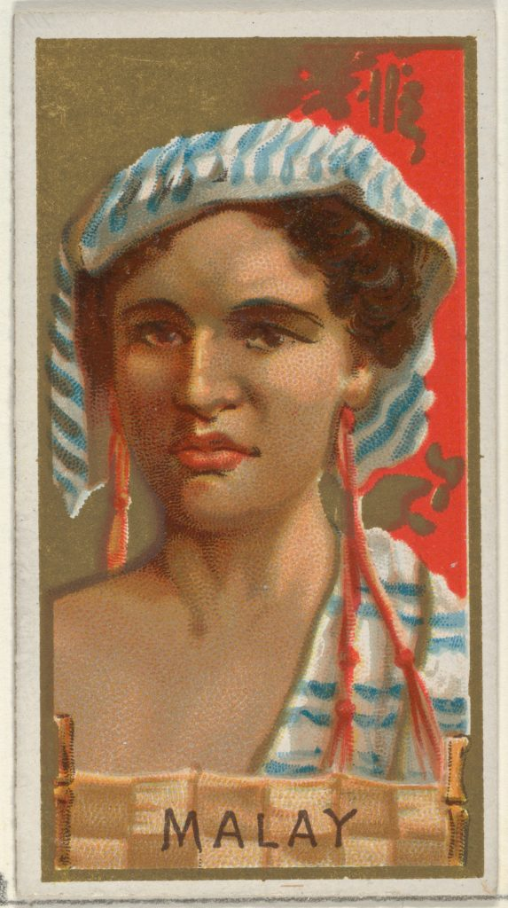 Malay, from the Types of All Nations series (N24) for Allen & Ginter Cigarettes