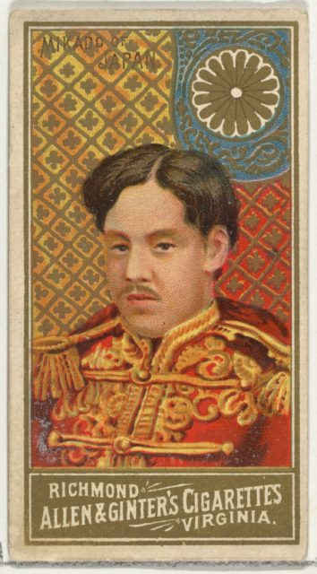 Mikado of Japan, from World's Sovereigns series (N34) for Allen & Ginter Cigarettes