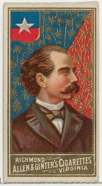 President of Chile, from World's Sovereigns series (N34) for Allen & Ginter Cigarettes