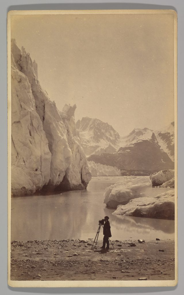 [Self-Portrait at Glacier Bay, Alaska]
