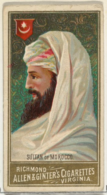 Sultan of Morocco, from World's Sovereigns series (N34) for Allen & Ginter Cigarettes