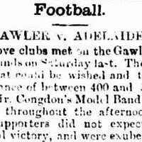 Gawler Football Club, Bunyip, 1889