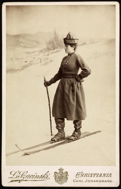 Portrett av Eva Nansen (1858-1907), 1889