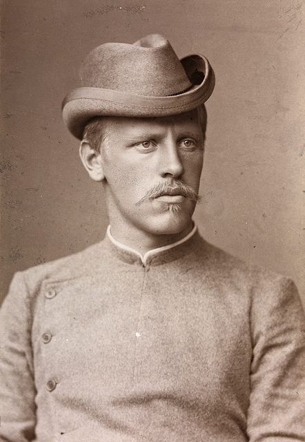 Portrett av Fridtjof Nansen, 1889