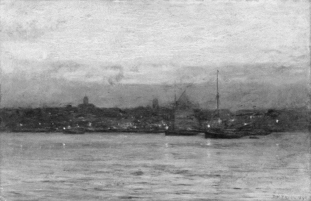 Evening, New Bedford Harbor