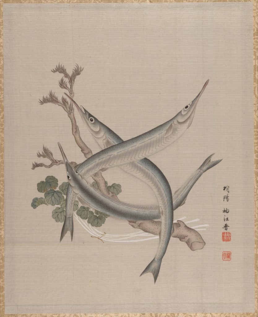 Three Fishes and a Branch