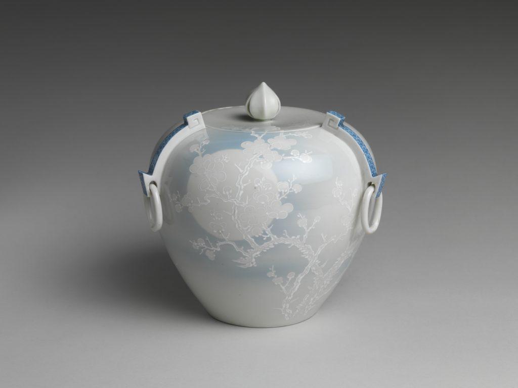 Water Jar with Plum Tree