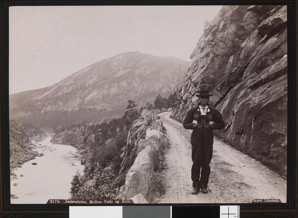 2176. Sætersdalen, Mellem Valle og Helle - no-nb digifoto 20151105 00118 bldsa AL2176
