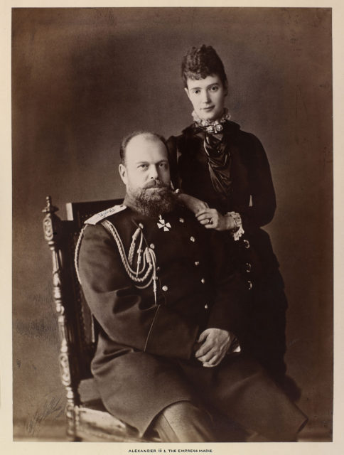 Alexander III, the Emperor of Russia, Empress Alexandra Feodorovna