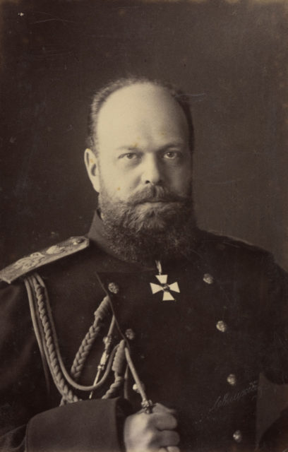Emperor of Russia Alexander III -  King of Poland, and Grand Duke of Finland