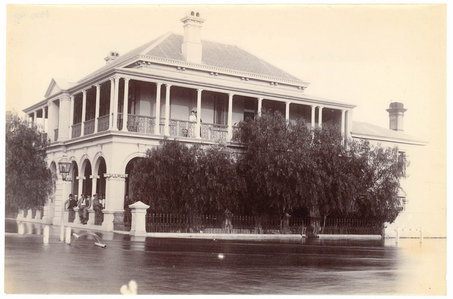 Flood, Bourke, 1890
