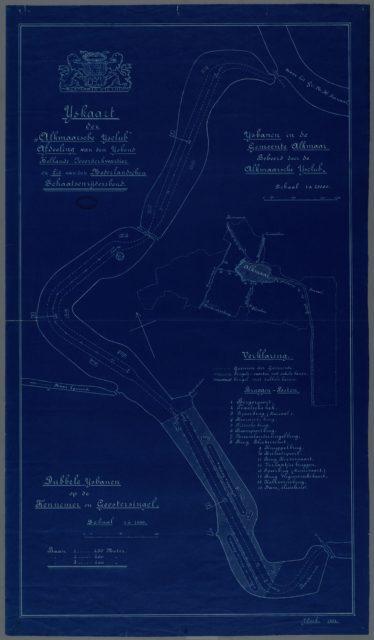 IJskaart van Alkmaarsche IJsclub 1904