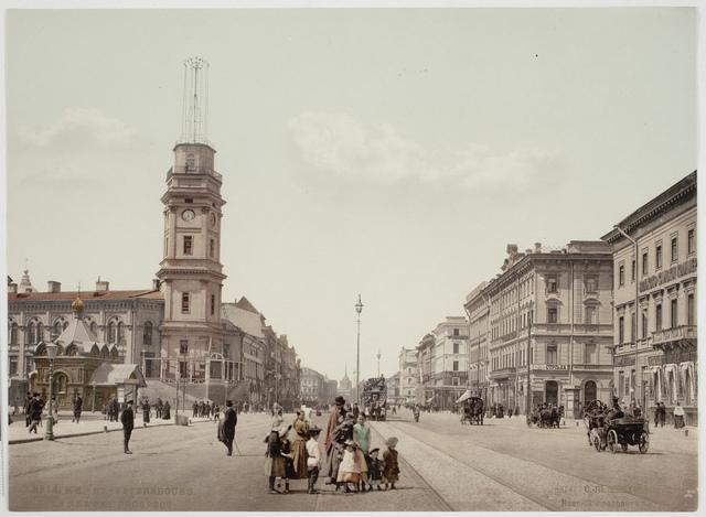 Nevski Prospect, St Petersburg