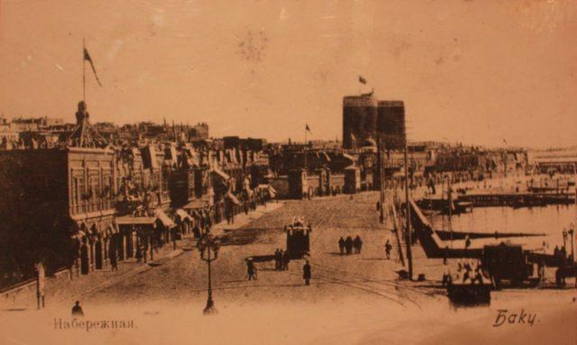 Old Baku. Muslim Quarters.