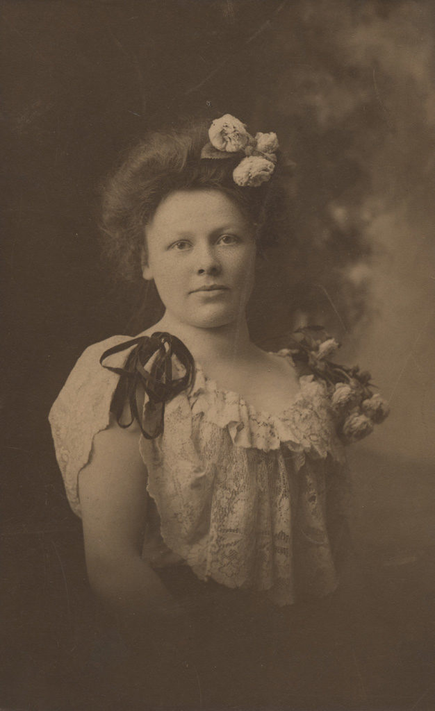 Portrait of Charlotte Maude Green (Langell) at fifteen, date unknown