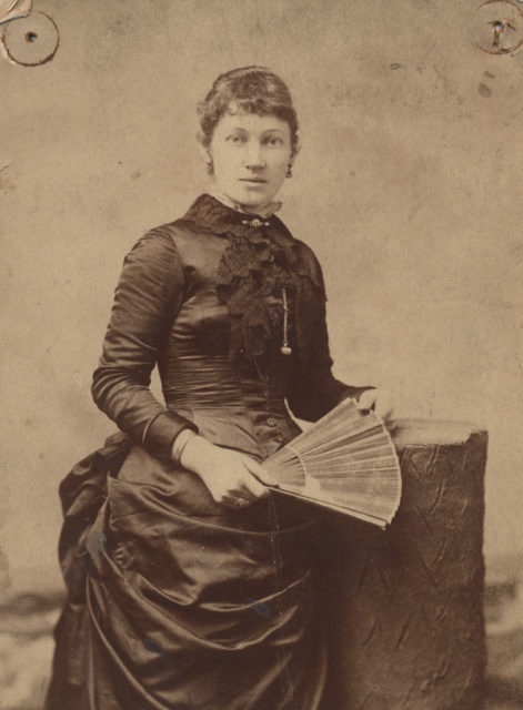 Portrait of Emily Cox Wigle, date unknown