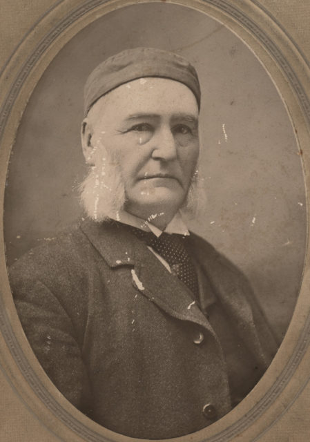 Portrait of Mr. Dickson, date unknown