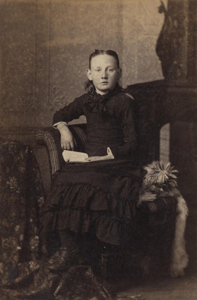 Портрет Вирджинии Брекон, дата неизвестна