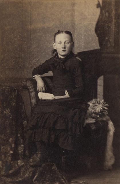 Portrait of Virginia Breckon, date unknown