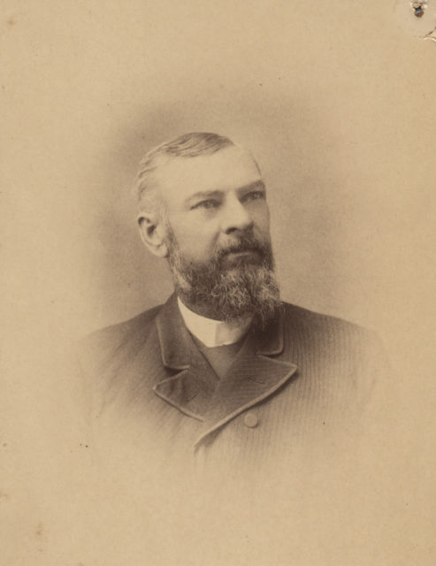 Portrait of William McLean, date unknown