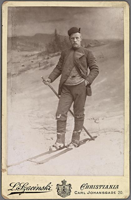 Portrett av Fridtjof Nansen (1861-1930), 1890