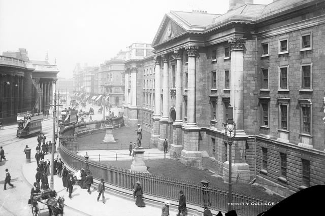 Trinity College Dublin, late 19th century