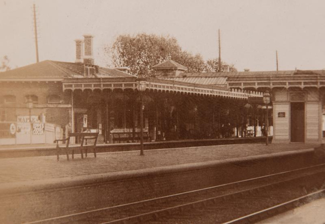 Vintage Railway Album: 6 (detail) - Harrow and Wealdstone station