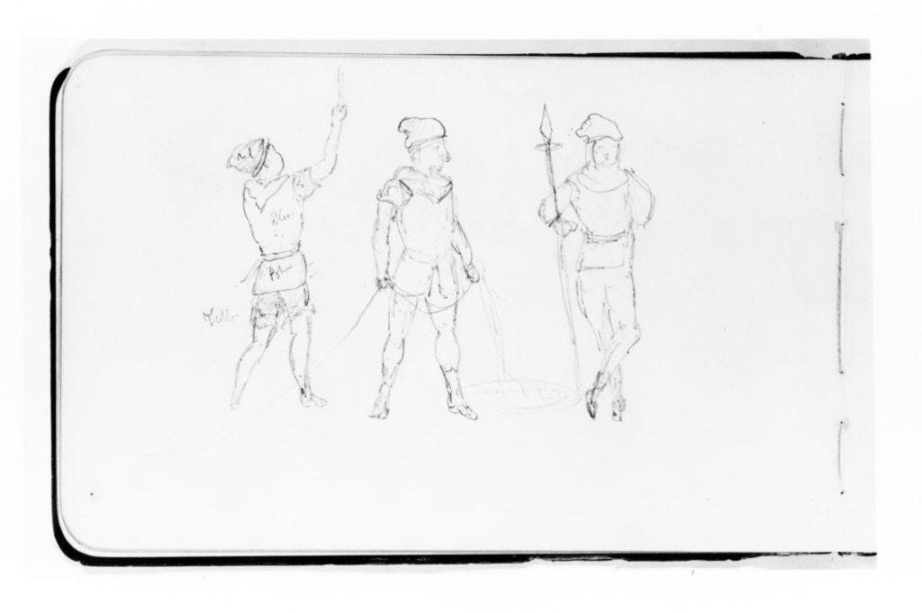 Three Figures (from Sketchbook)