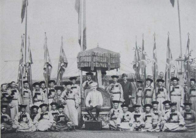 Chita. Nicolas II with Buryats - Asia Tour