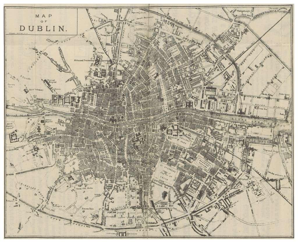 DINGNAM(1891) p019 MAP OF DUBLIN