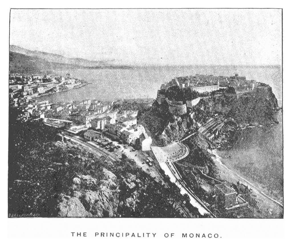 Monte-Carlo(1891) p118 THE PRINCIPALITY OF MONACO