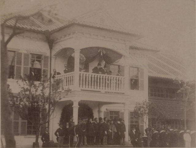 Nicolas II Asia Tour - Nagasaki, Japan