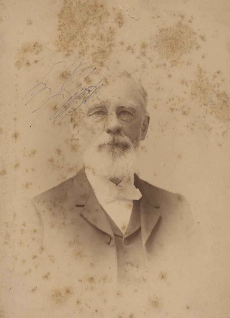 Portrait of James Harris, 1891