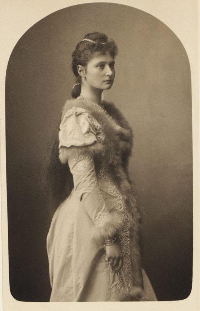 Alix of Hesse 1891
