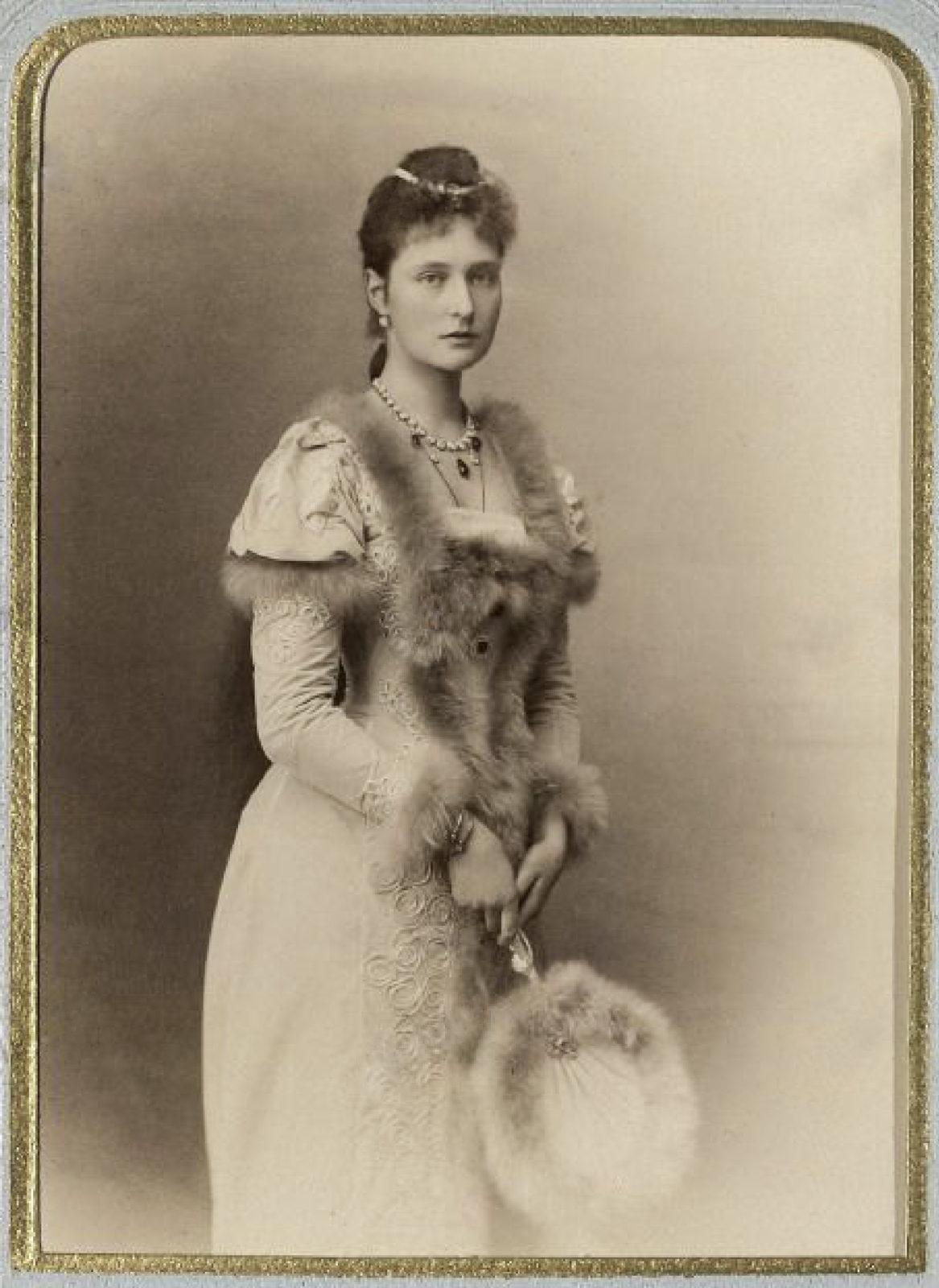Portrait of Princess Alix of Hesse. 1891.