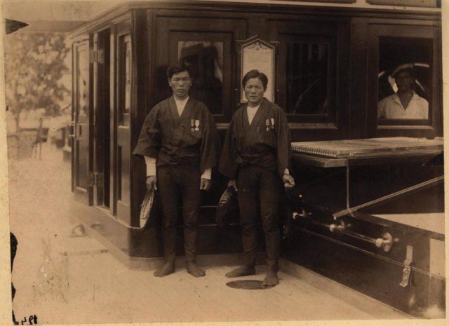 The Japanese rickshaw who saved the Tsesarevich f - Nicolas II Asia Tour