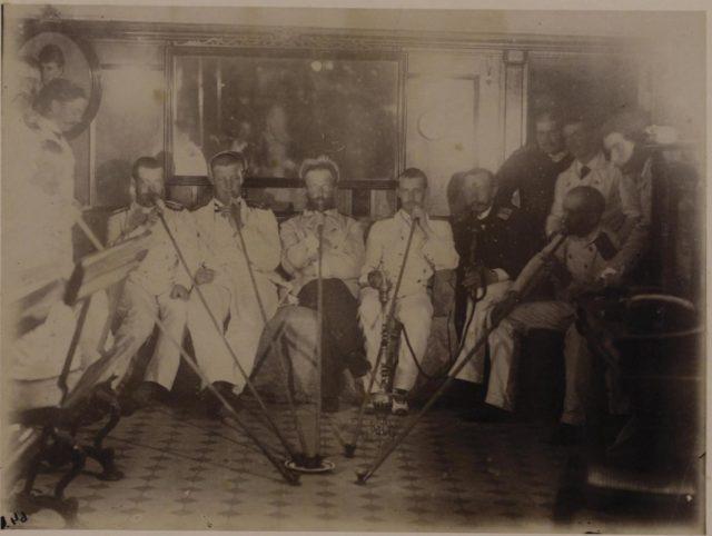 Tsarevich Nicolas II, Prince George, Grand Duke George Alexandrovich