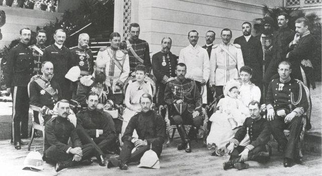 Tsarevich Nikolai is visiting a royal family in Greece.