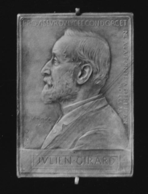 In Honor of M. Julien Girard, Head Master of the Lyceum Condorcet, 1892