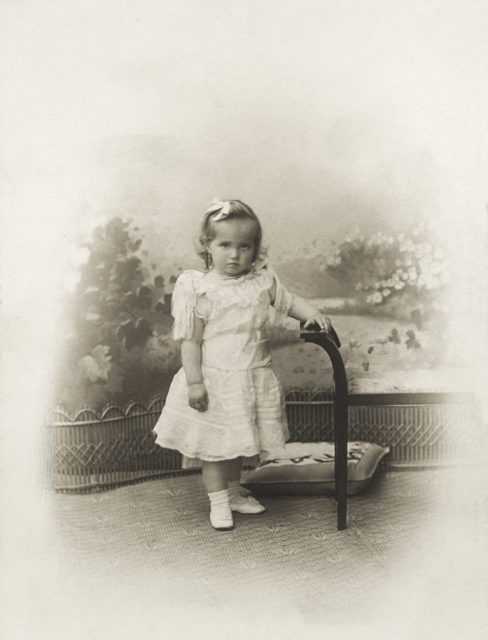 Grand Duchess Maria Nikolaevna. The third daughter of Emperor Nicholas II and Empress Alexandra Feodorovna.
