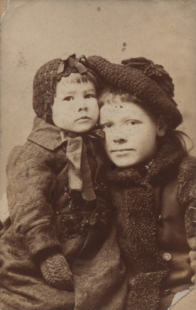 Portrait of two children, 1892