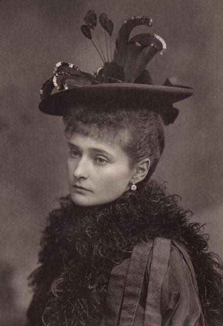 Princess Alix of Hesse .1892.