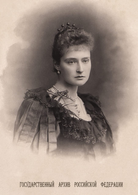 Princess Alix of Hesse .1892.