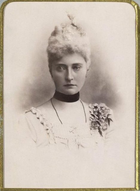 Princess Alix of Hesse. 1892.