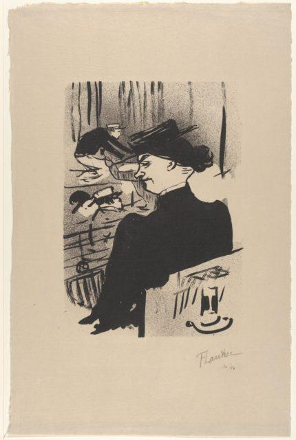 A Spectator (from Le Café Concert)