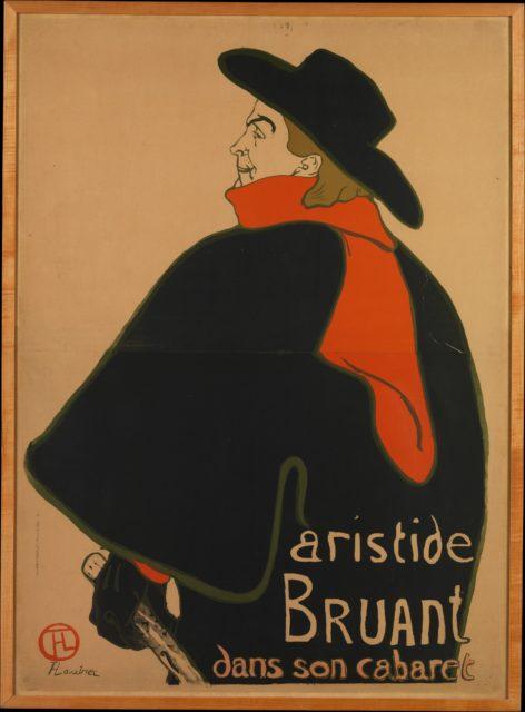 Aristide Bruant, at His Cabaret