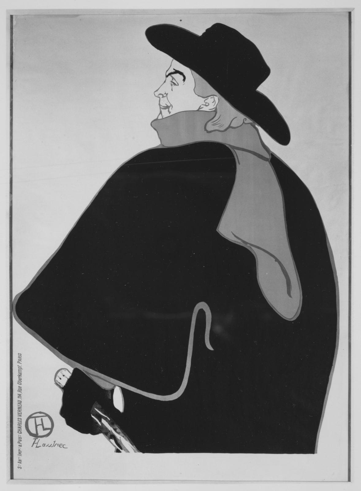 Aristide Bruant, dans son cabaret