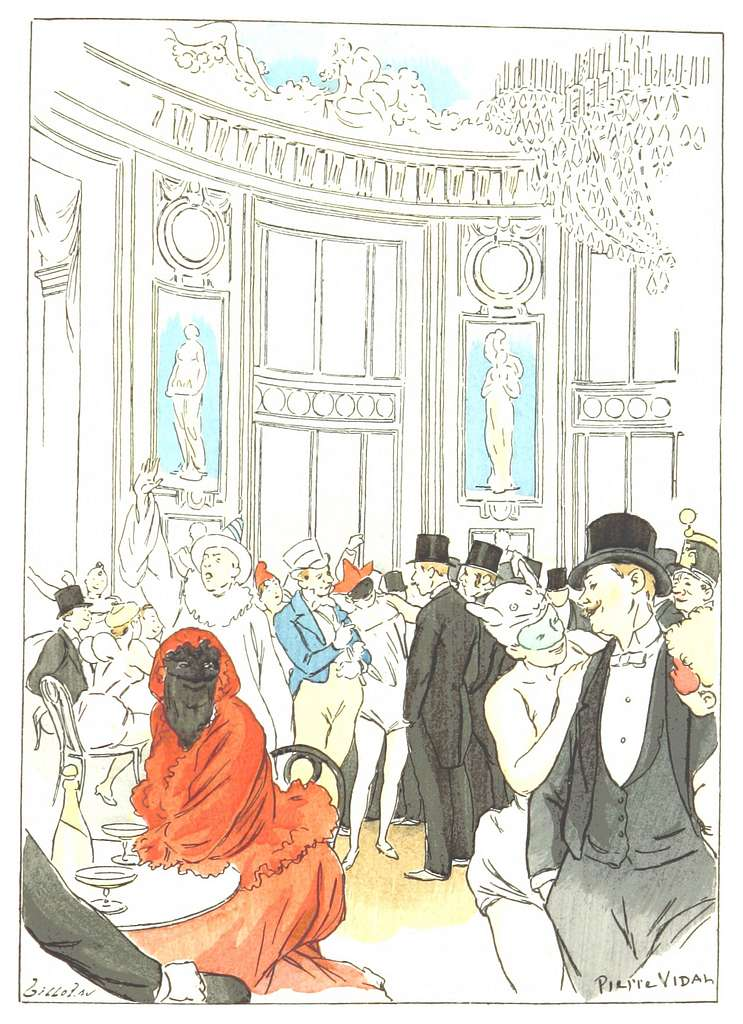 GOUDEAU&VIDAL - Buffet du Bal de l'Opéra