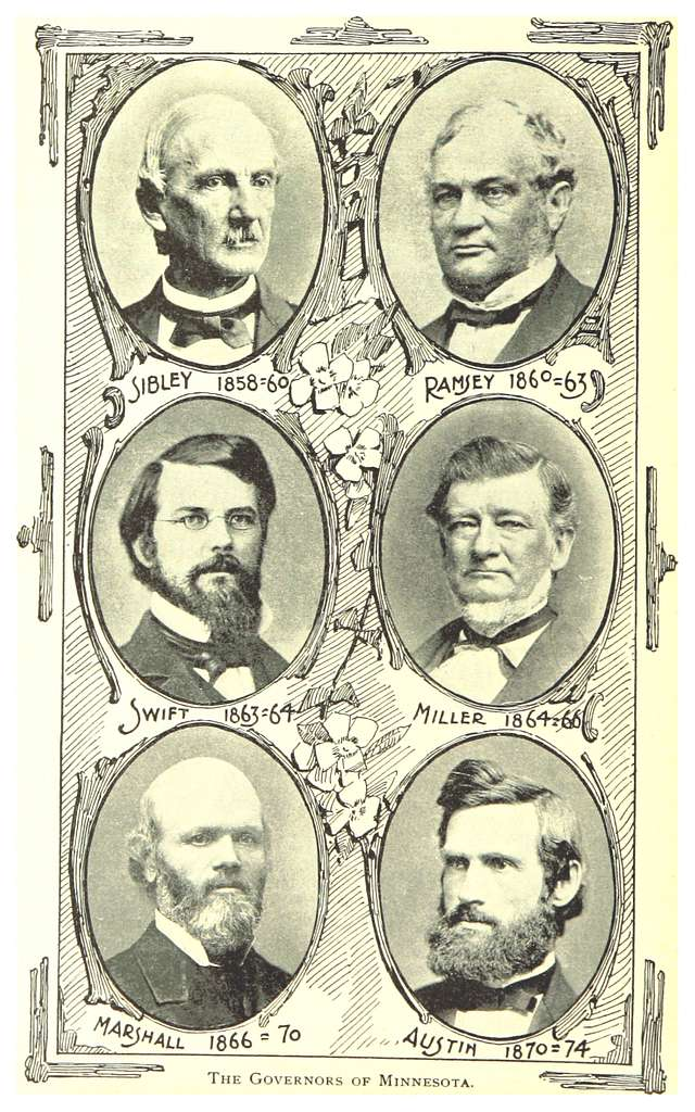MN1893 pg028 THE GOVERNORS OF MINNESOTA